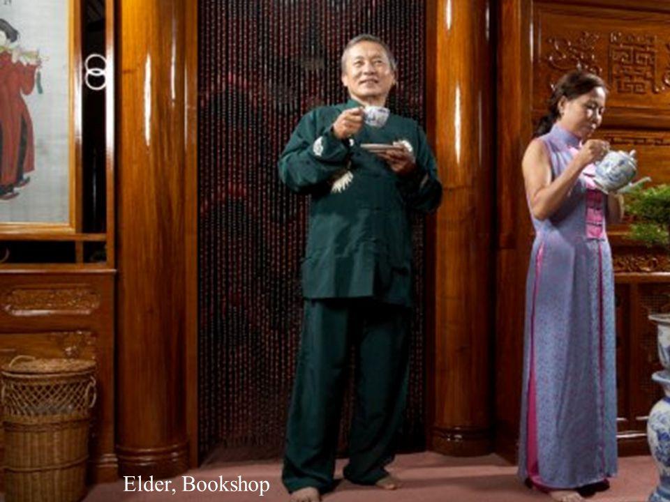 Elder, Bookshop