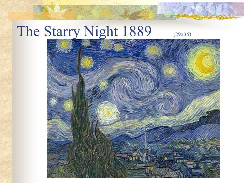 The Starry Night 1889 (29x36)