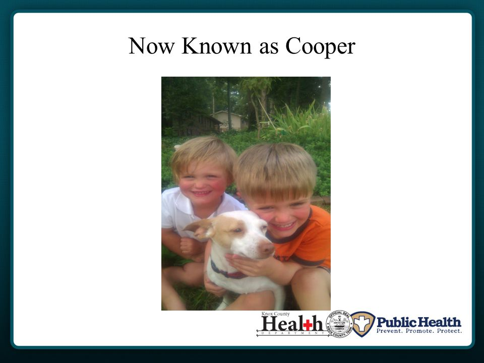 Now Known as Cooper