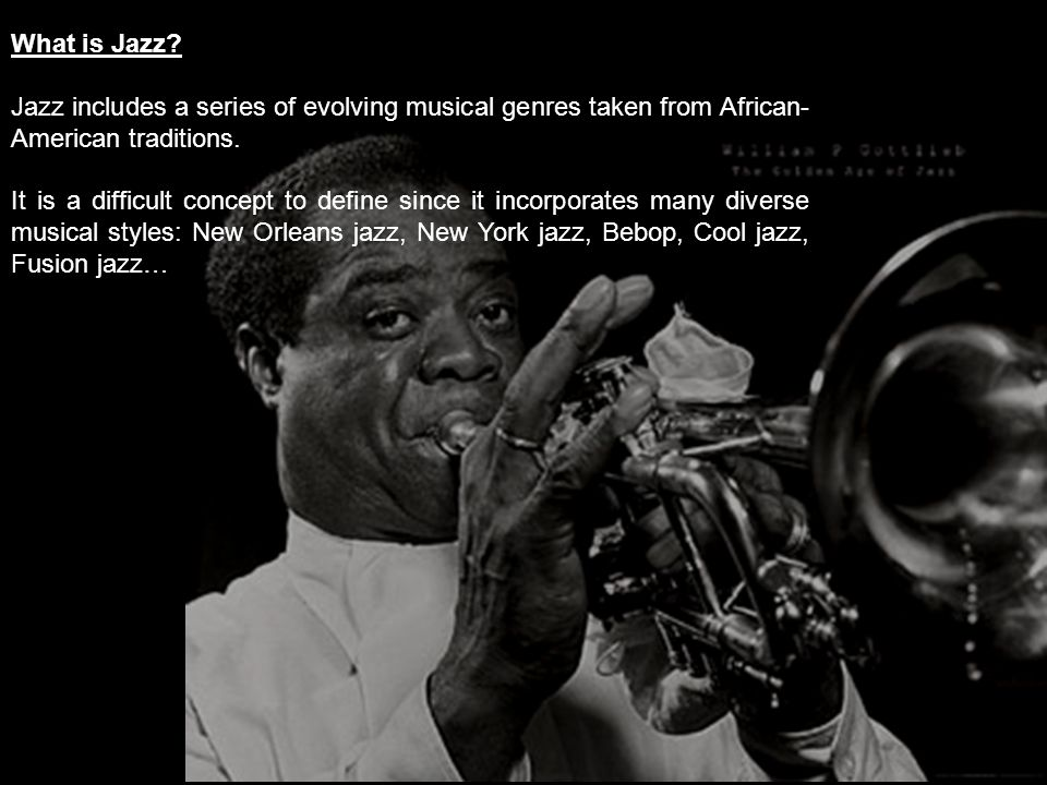 What is Jazz.
