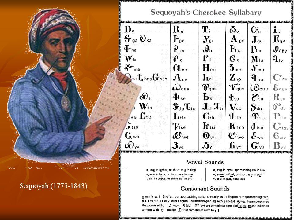 Sequoyah (1775-1843)