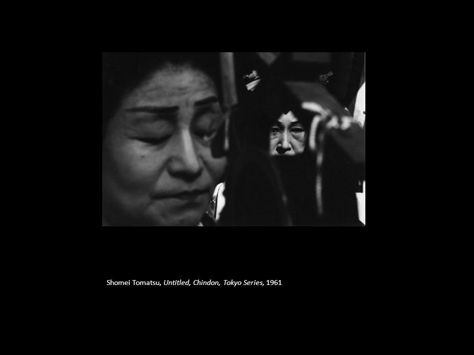 Shomei Tomatsu, Untitled, Chindon, Tokyo Series, 1961