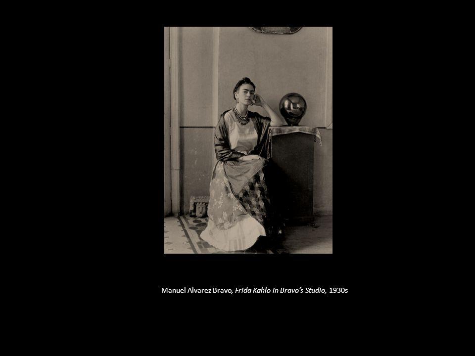 Manuel Alvarez Bravo, Frida Kahlo in Bravo's Studio, 1930s