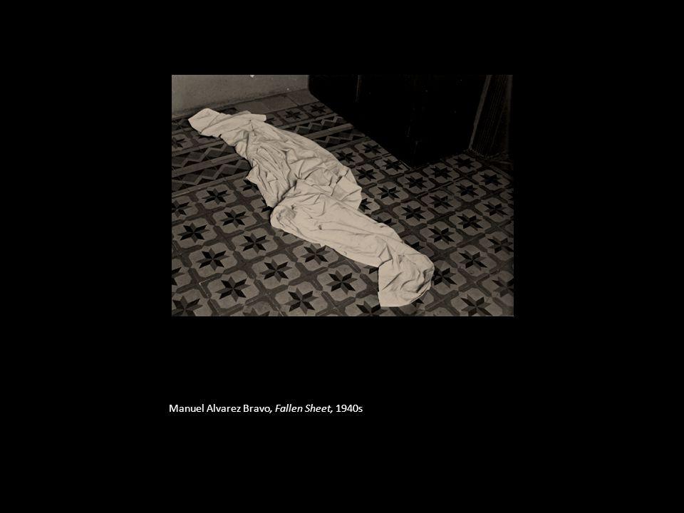 Manuel Alvarez Bravo, Fallen Sheet, 1940s