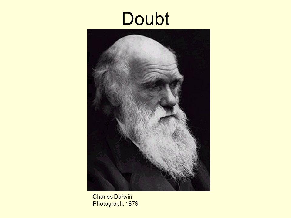 Doubt Charles Darwin Photograph, 1879