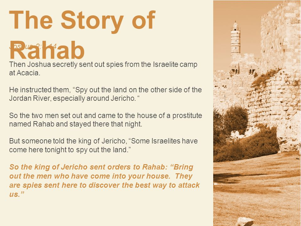 Once Rahab made the choice to protect the spies, she put everything she had at risk for a God she barely knew.