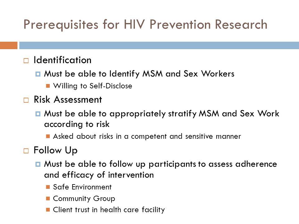 Case Studies  Combination HIV Prevention and Stigma  FSW in Russia, Swaziland  MSM in Gambia, Malawi