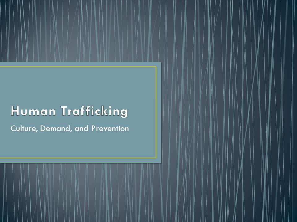 Nearly 300,000 U.S.children are at risk of becoming victims of sex trafficking.