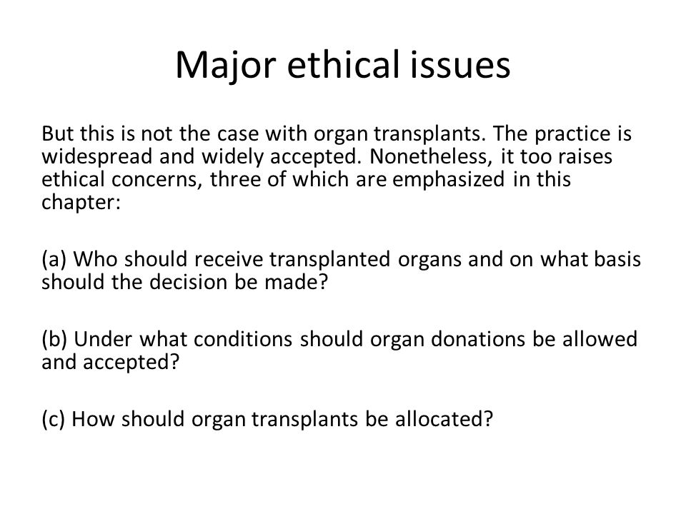 Reading: Refuse to Support the Illegal Organ Trade Kishore D.
