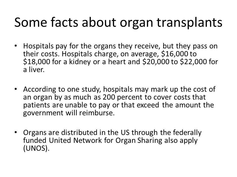 Section 1: Who Deserves Transplant Organs.