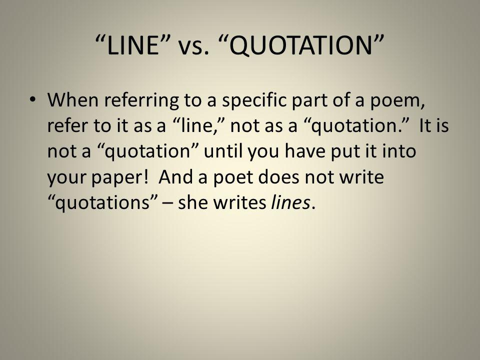 LINE vs.