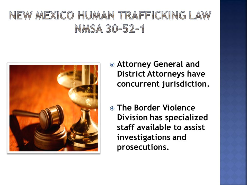  Attorney General and District Attorneys have concurrent jurisdiction.