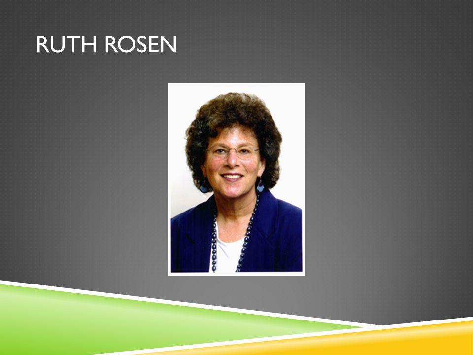 RUTH ROSEN