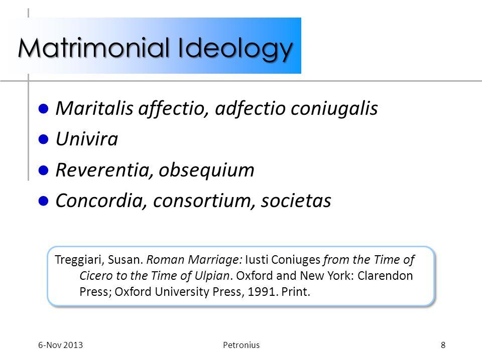 Petronius 1 Immoral Morality
