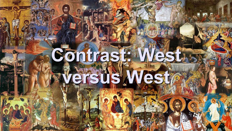 Contrast: West versus West