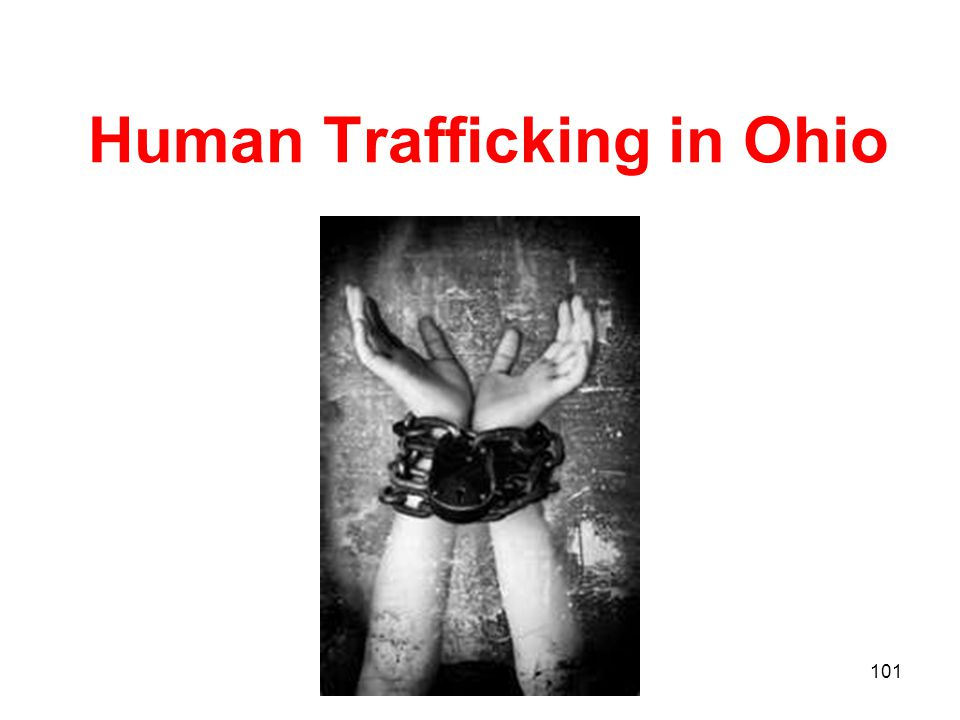 Human Trafficking in Ohio 101
