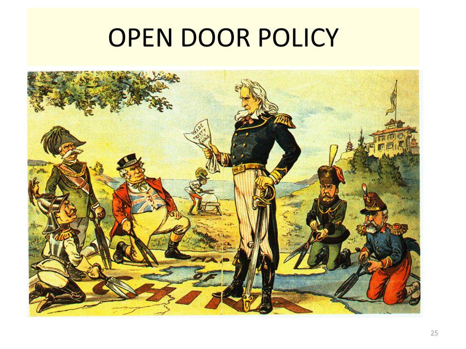 25 OPEN DOOR POLICY