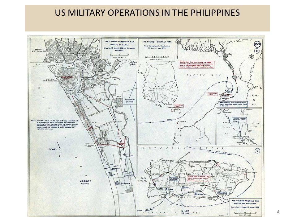 4 US MILITARY OPERATIONS IN THE PHILIPPINES