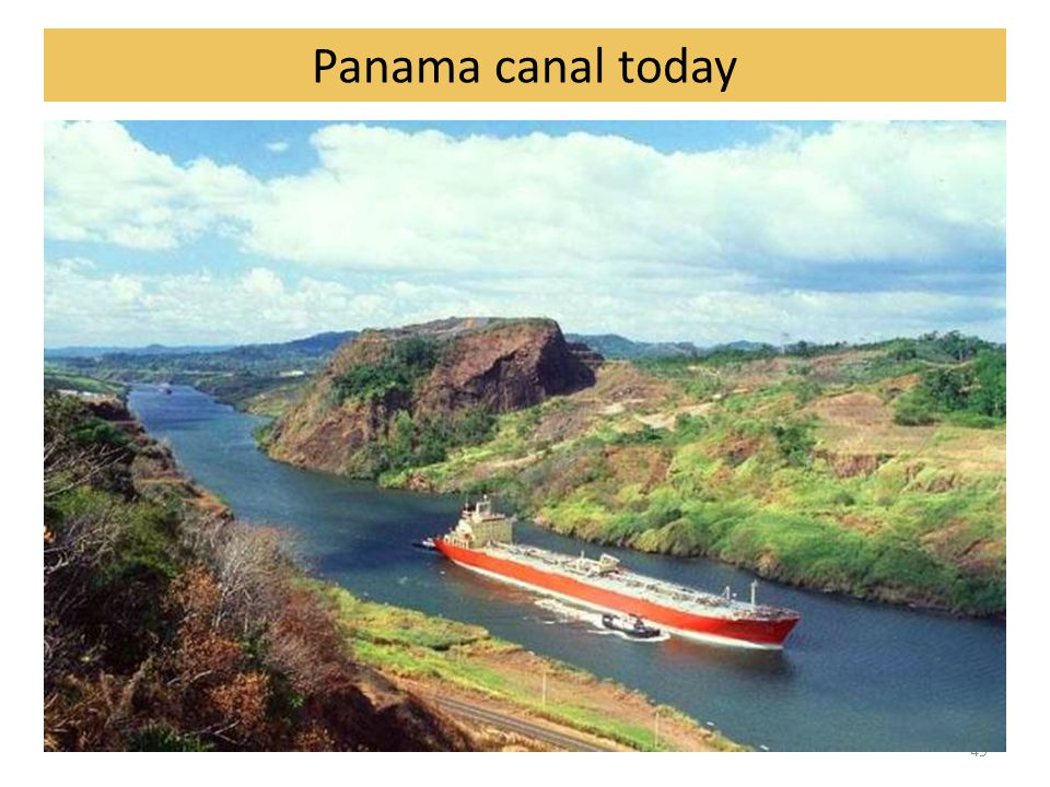 49 Panama canal today