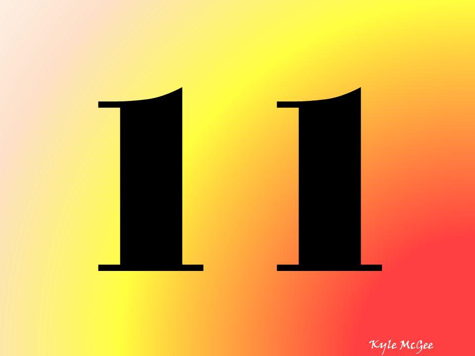 11 Kyle McGee