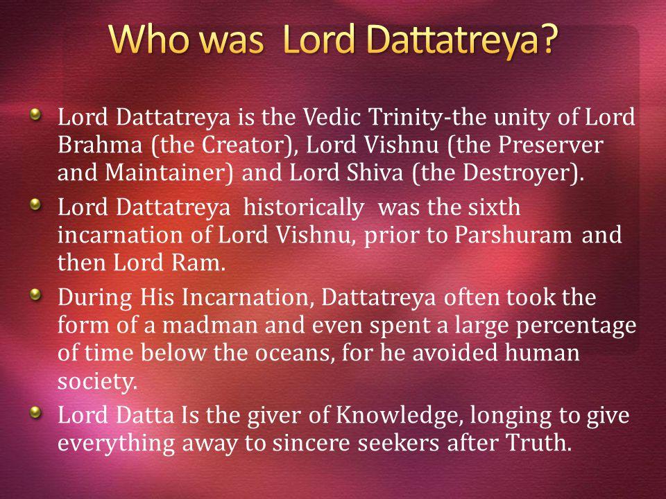 Arvind Pindoriya & Rajesh Varsani Lord Dattatreya & His 24 Gurus Hari Group Presentation 3 Om Namo Bhagavate Dattatreya