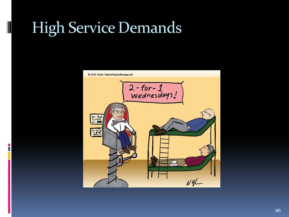 High Service Demands 96