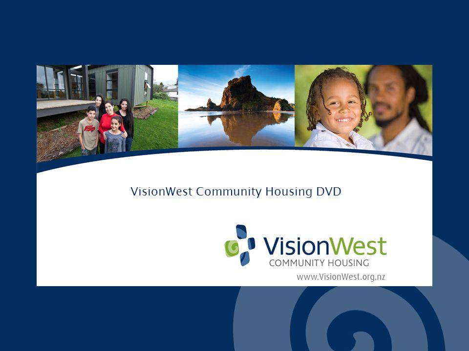 VisionWest Community Housing DVD