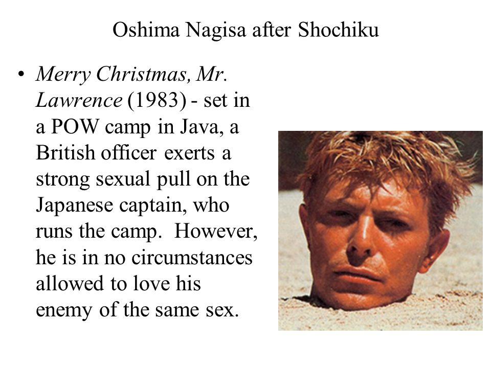 Oshima Nagisa after Shochiku Merry Christmas, Mr.