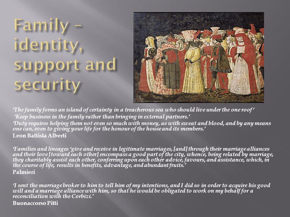  Relations between elders and younger family members – always cordial and with elders wielding power.