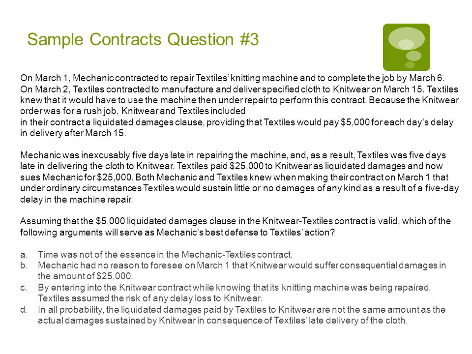 Sample Contracts Question #4 Loyal, aged 60, who had no plans for early retirement, had worked for Mutate, Inc., for 20 years as a managerial employee-at-will when he had a conversation with the company's president, George Mutant, about Loyal's post- retirement goal of extensive travel around the United States.