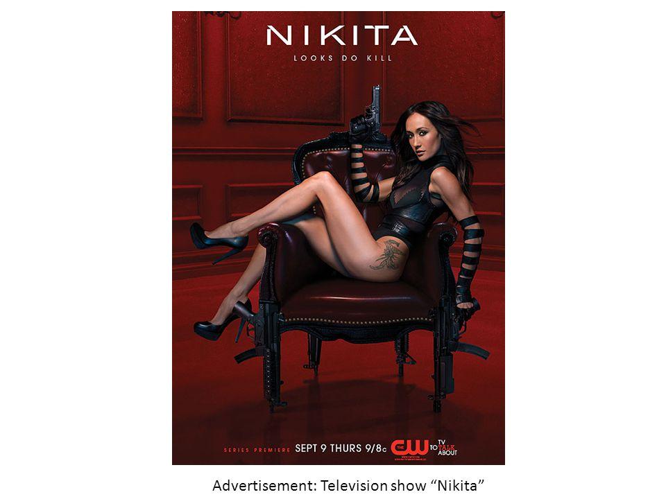 Advertisement: Television show Nikita