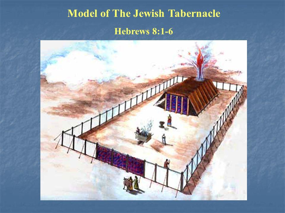 Model of The Jewish Tabernacle Hebrews 8:1-6