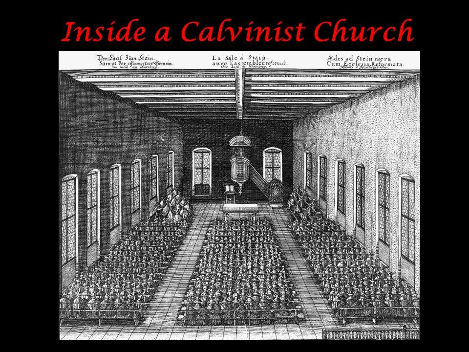Inside a Calvinist Church
