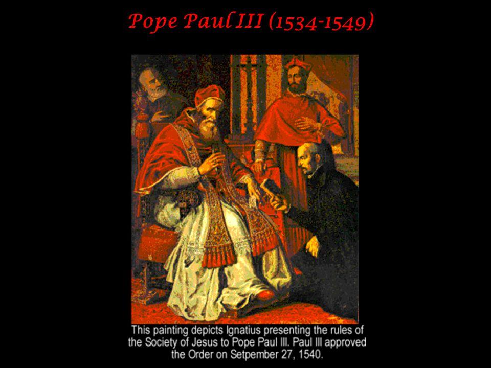 Pope Paul III (1534-1549)
