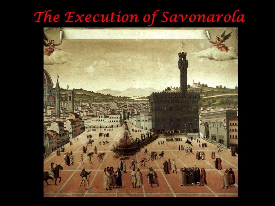 The Execution of Savonarola