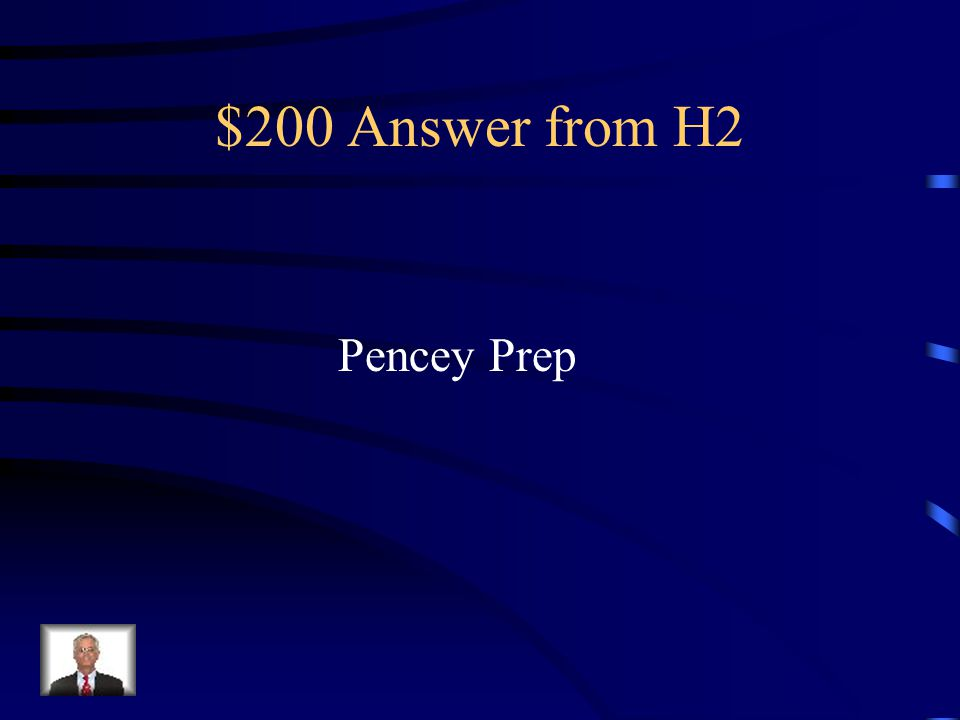 $200 Question from H2 School Holden gets kicked out of in the story
