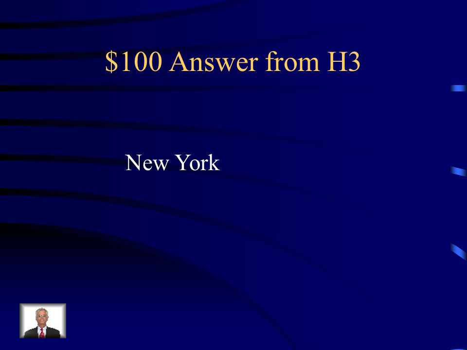 $100 Question from H3 Holden takes a train to this city