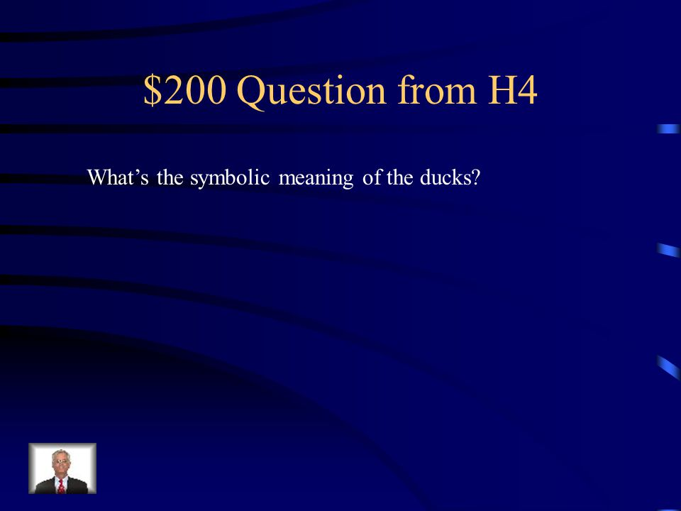 $100 Answer from H4 Individuality or non-conformity