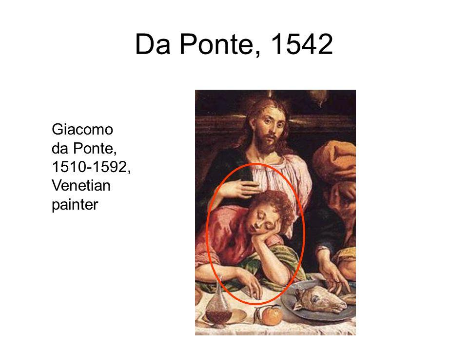 Da Ponte, 1542 Giacomo da Ponte, 1510-1592, Venetian painter