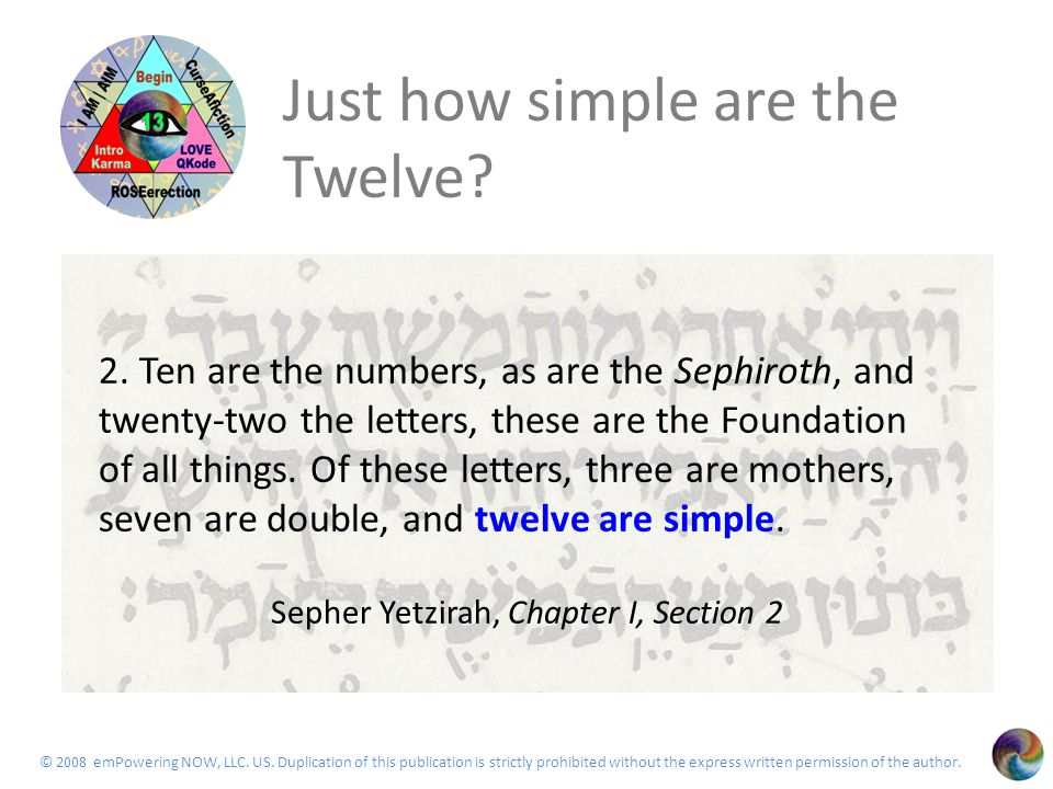 The Twelve 62 Saphire as reminded by rabbi goofey Means light