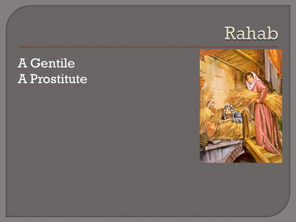 A Gentile A Prostitute