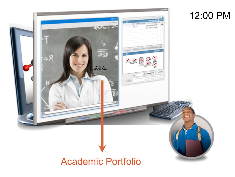 12:00 PM Academic Portfolio