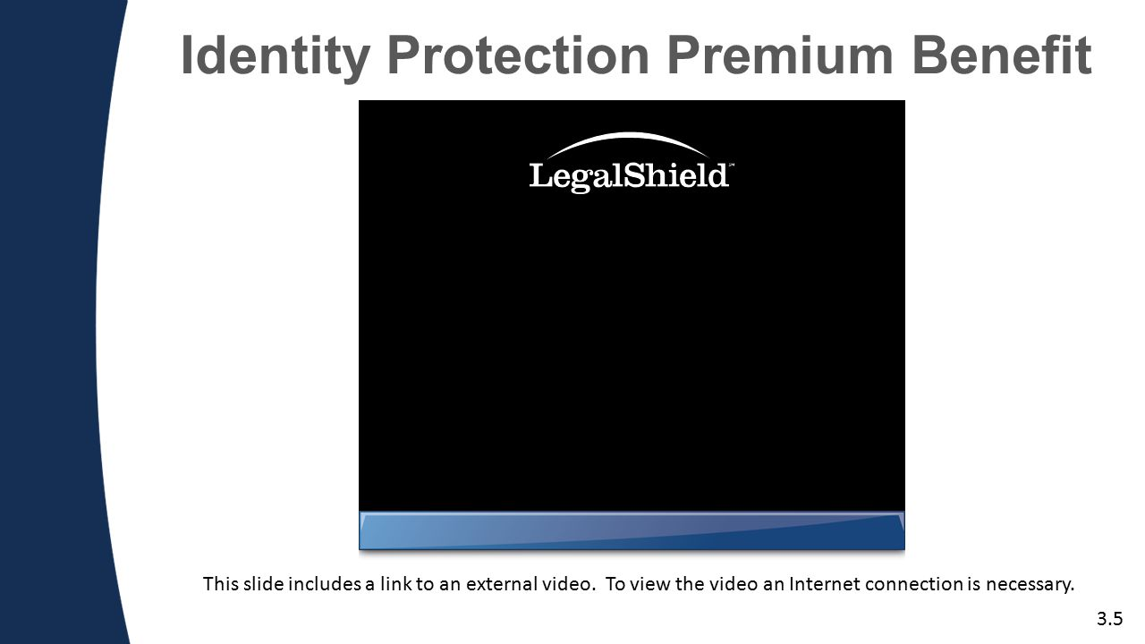 Identity Protection Premium Benefit 3.5 This slide includes a link to an external video.