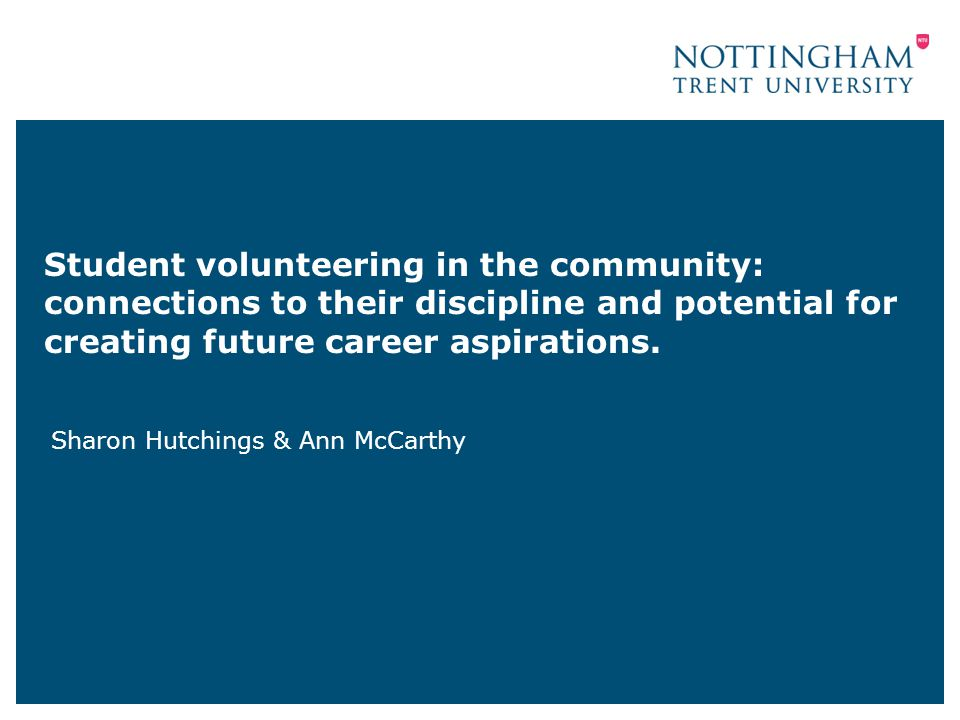 What we appreciated… Other communitiesbeyond student community First year students?absolutely yes.