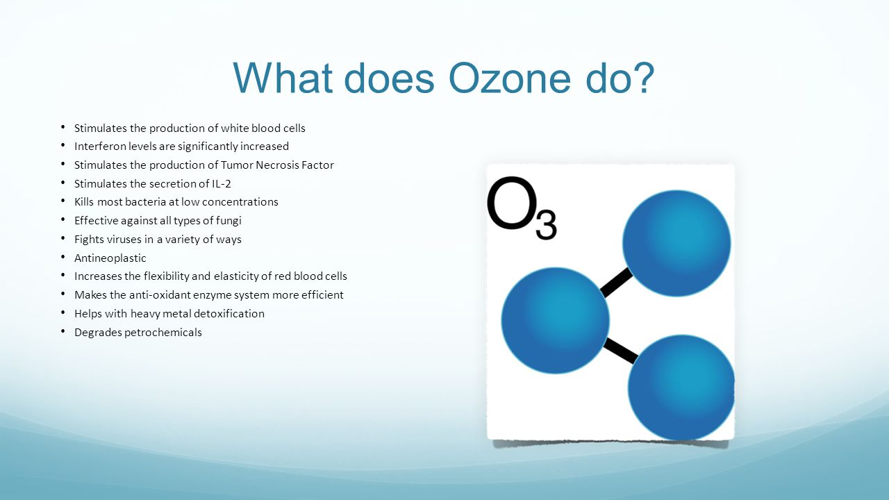 What does Ozone do.