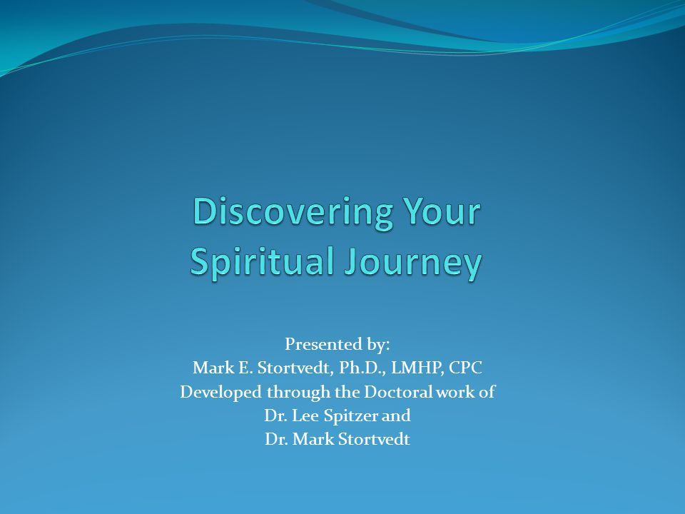 Phase Five: Renewal During this final phase we experience a new sense of vitality and purpose.