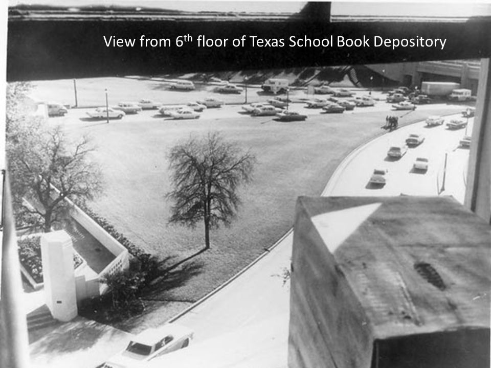 View from 6 th floor of Texas School Book Depository