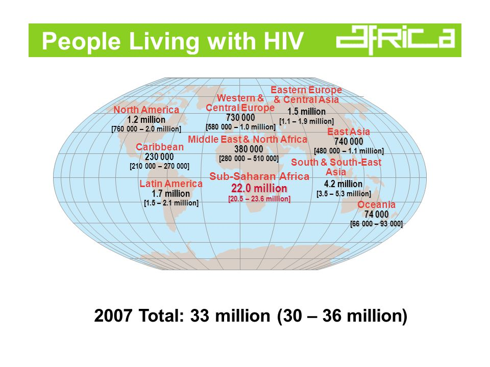 A Global View of HIV http://www.msnbc.msn.com/id/34048658/ns/health-aids/t/global-view-aids-epidemic/#.TwNpUkeBpQM