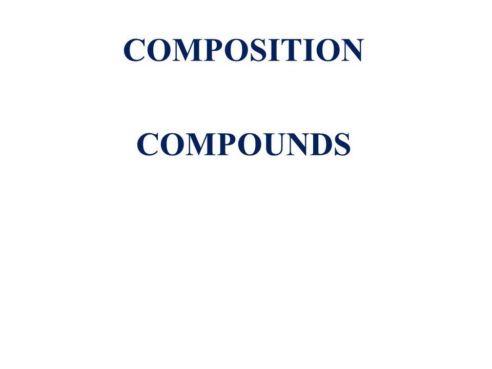 COMPOSITION COMPOUNDS