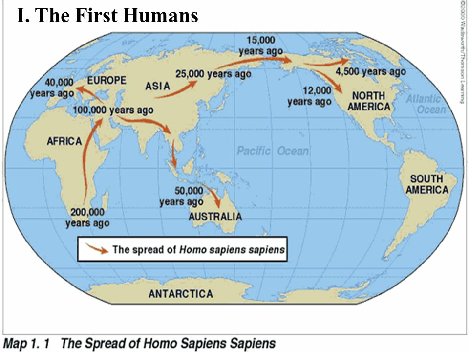 I. The First Humans